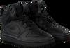 Zwarte NIKE Sneakers COURT BOROUGH MID KIDS  - small