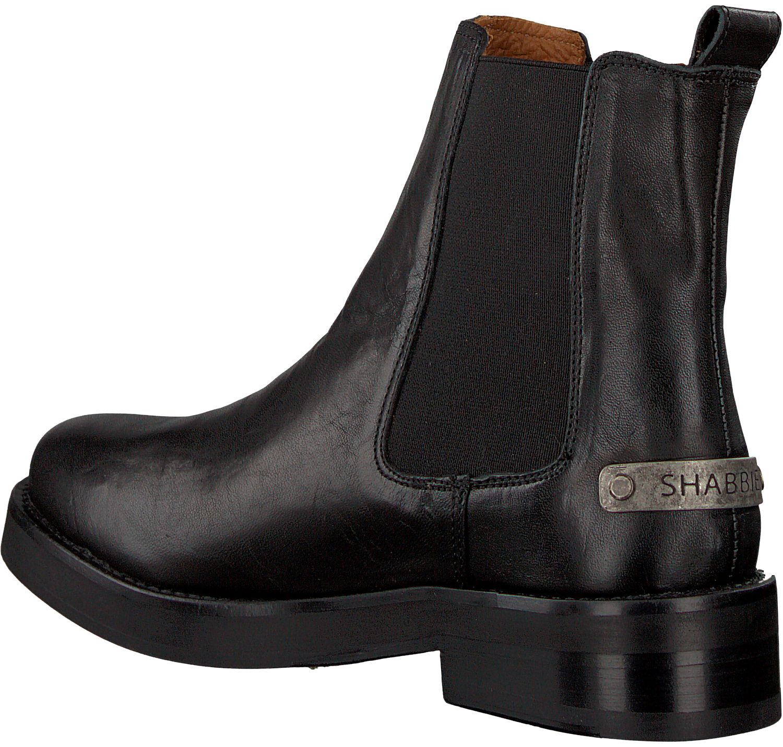 b349c847e4f Zwarte SHABBIES Chelsea boots 181020122 - Omoda.nl