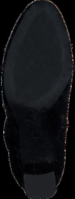Zwarte UNISA Enkellaarsjes UDELLA  - large
