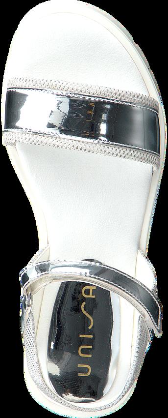 Zilveren UNISA Sandalen NETTIE  - larger