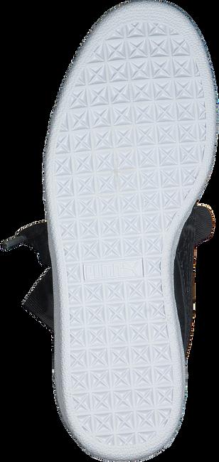 Zwarte PUMA Sneakers BASKET HEART OCEANAIRE - large