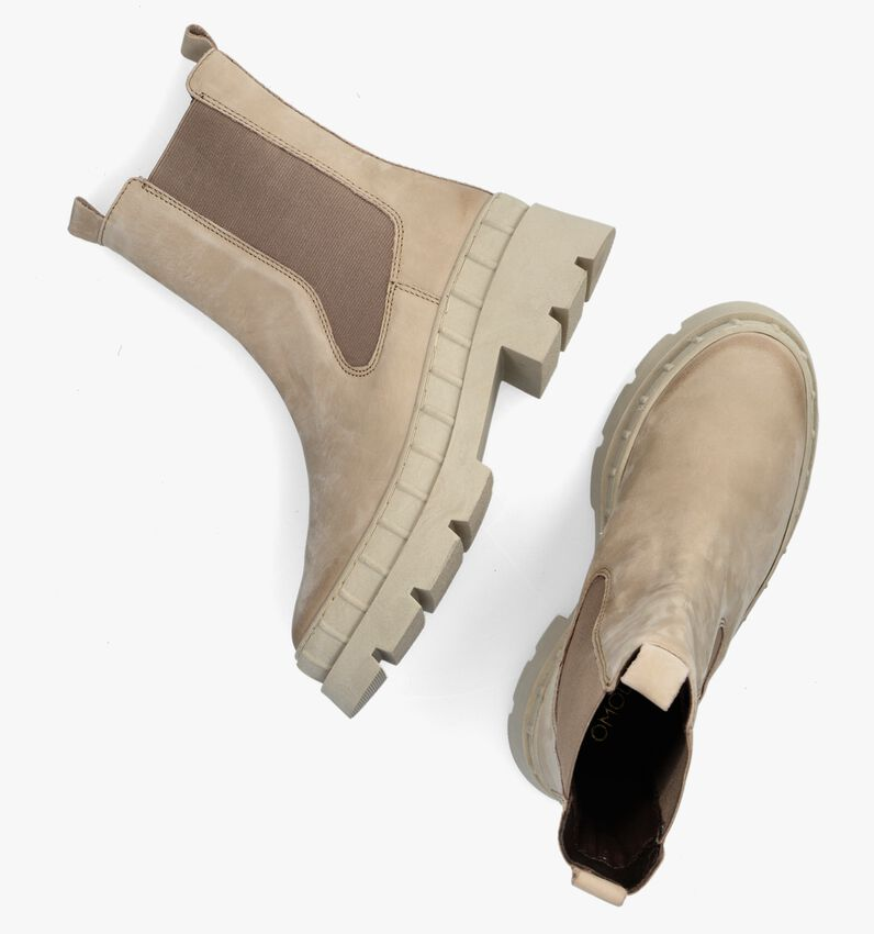 Taupe OMODA Chelsea boots LPNORA-02  - larger