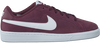 Rode NIKE Sneakers COURT ROYALE SUEDE MEN  - small