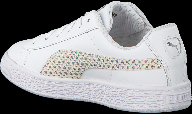 60da78ae267 Witte PUMA Sneakers BASKET CHAMELEON. PUMA. Previous