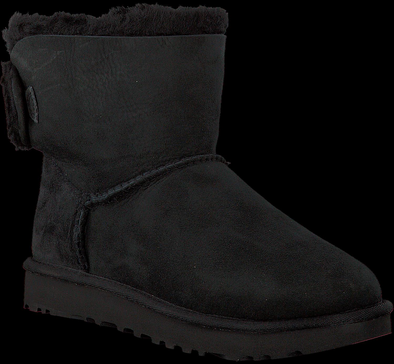 Noir Ugg Boots Arielle Fourrure JMUFTYhX
