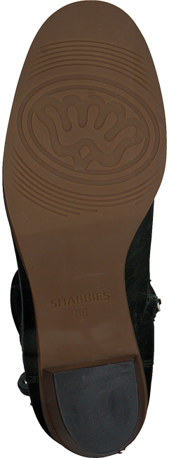Groene SHABBIES Enkellaarsjes 182020111 - large