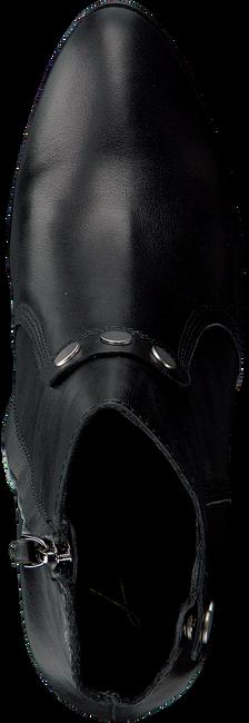 zwarte lola cruz enkellaarsjes botin con detalle de remanche