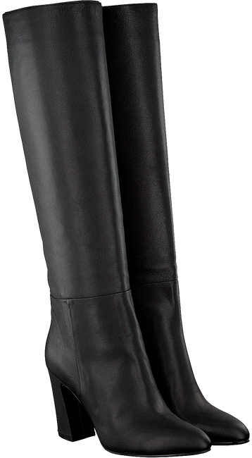Zwarte WHAT FOR Lange laarzen JESS  - large