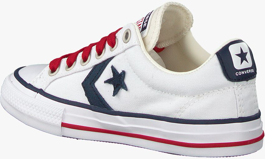 Witte CONVERSE Lage sneakers STAR PLAYER EV OX KIDS  - larger