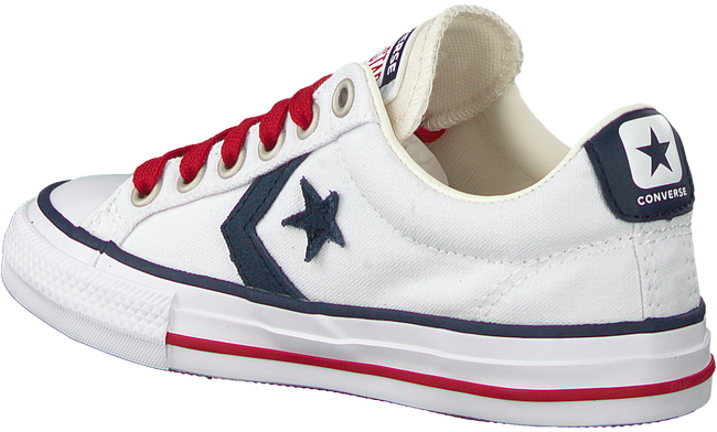 Witte CONVERSE Lage sneakers STAR PLAYER EV OX KIDS  - large