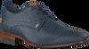 Blauwe REHAB Nette schoenen GREG CHECKER  - small