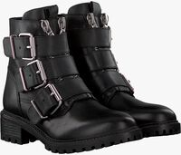 Zwarte PS POELMAN Biker boots LPCFENIX-40  - medium