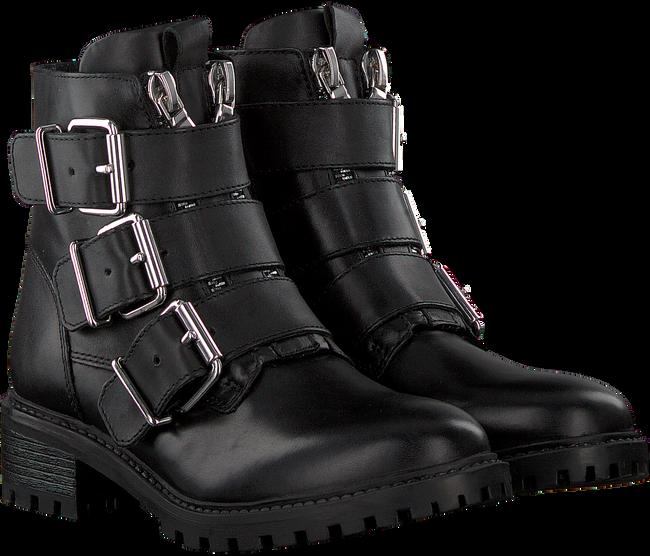 Zwarte PS POELMAN Biker boots LPCFENIX-40  - large