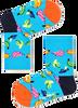 Blauwe HAPPY SOCKS Sokken KIDS BANANA  - small