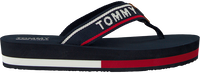 blauwe TOMMY HILFIGER Slippers TOMMY JEANS MID BEACH SANDAL  - medium