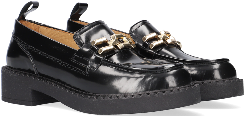 Zwarte NOTRE-V Loafers TINA02  - larger