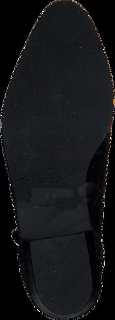 Zwarte HASSIA Enkellaarsjes 6732  - large
