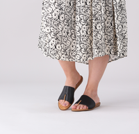 Zwarte UNISA Slippers ACHO  - medium