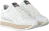 Witte VIA VAI Lage sneakers MILA BOW - small