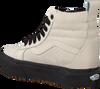 Beige VANS Sneakers SK8 HI PLATFORM MTE - small