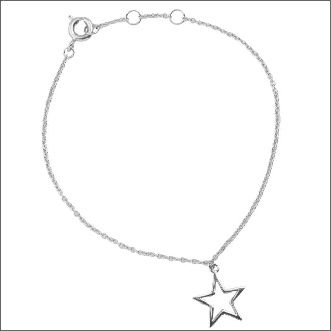 Zilveren ATLITW STUDIO Armband SOUVENIR BRACELET STAR - large
