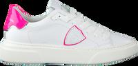 Witte PHILIPPE MODEL Lage sneakers TEMPLE S FEMME  - medium