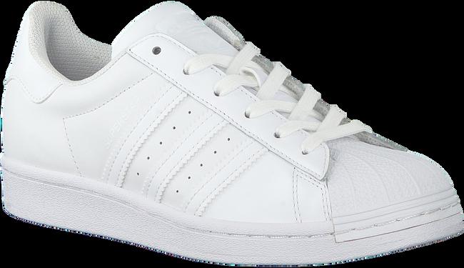 Witte ADIDAS Lage sneakers SUPERSTAR DAMES  - large