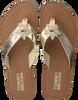 Gouden TOMMY HILFIGER Slippers GLITTER BEACH SANDAL - small