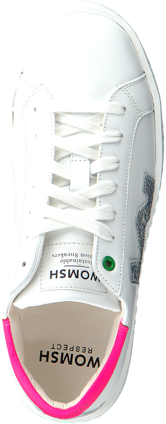 Witte WOMSH Lage sneakers CONCEPT  - larger