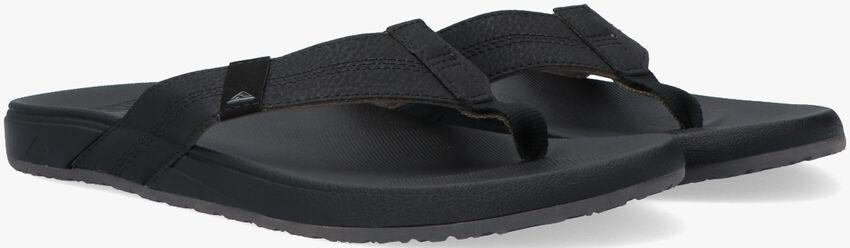 Zwarte REEF Slippers CUSHION BOUNCE PHANTOM  - larger