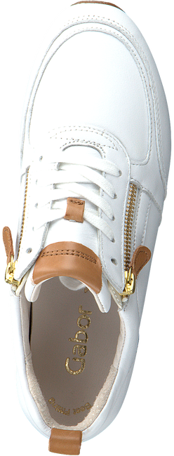 Witte GABOR Lage sneakers 431  - large
