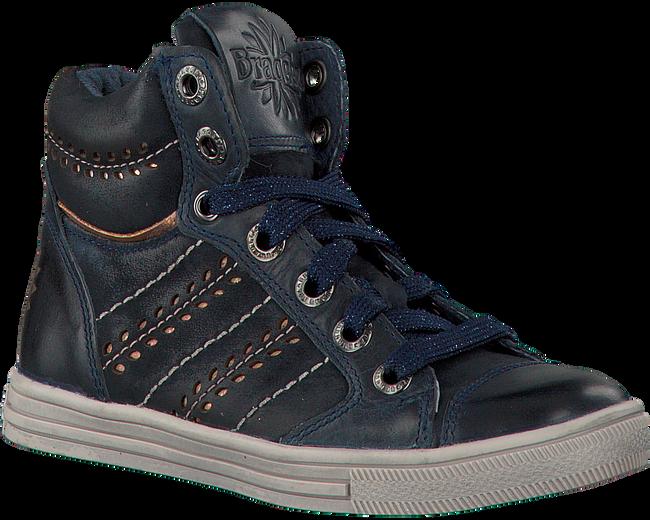Blauwe BRAQEEZ Sneakers 417657  - large