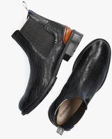 Zwarte FLORIS VAN BOMMEL Chelsea boots 85643  - medium