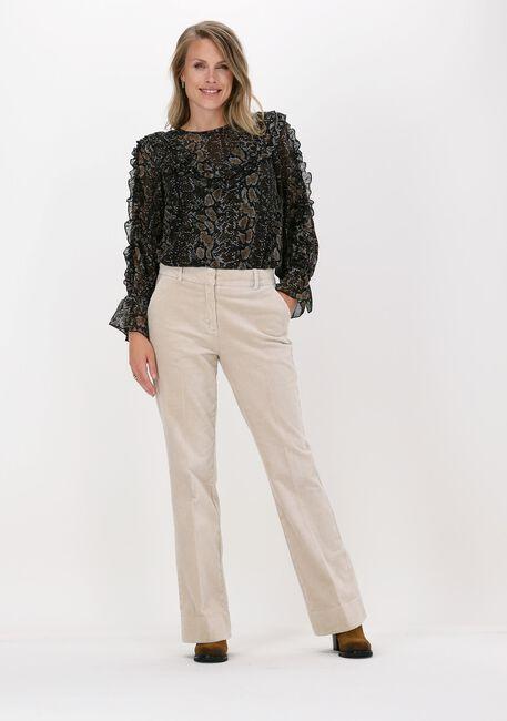 Ecru FIVEUNITS Pantalon CLARA 393 WINTER WHITE CORDURO  - large