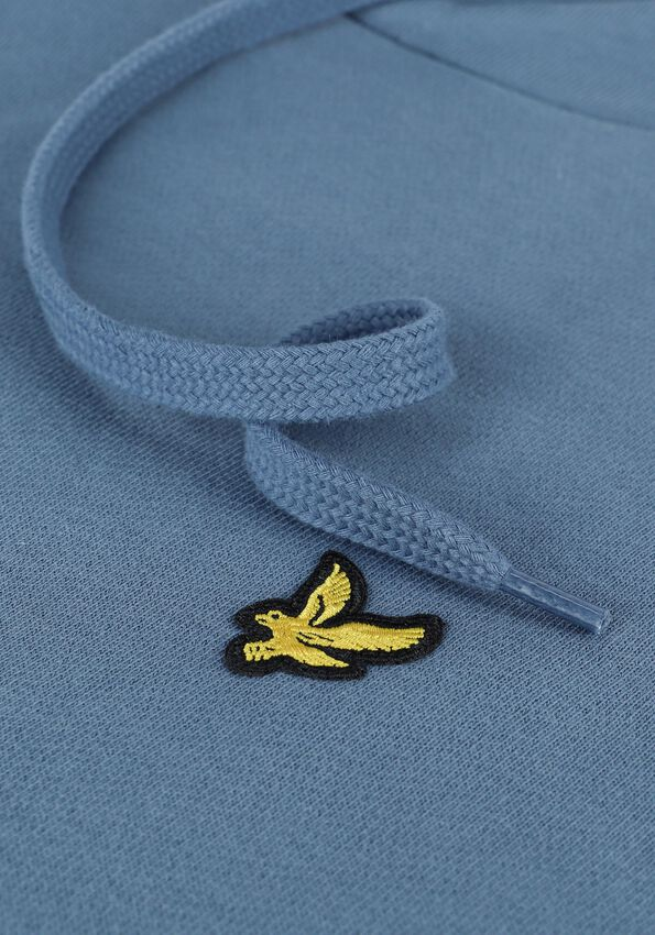 Grijze LYLE & SCOTT Sweater PULLOVER HOODIE - larger