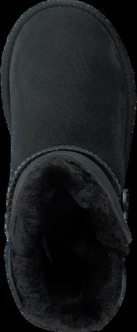 Zwarte UGG Vachtlaarzen BAILEY BUTTON KIDS  - large
