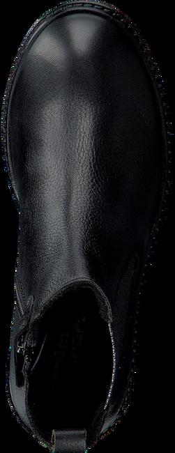 Zwarte APPLES & PEARS Enkellaarsjes EVITA  - large