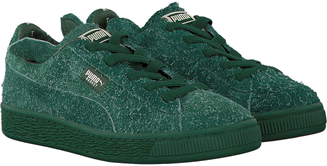 Groene PUMA Sneakers PUMA X TC BASKET FURRY  - large