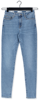 Blauwe SELECTED FEMME Skinny jeans SLFSOPHIA MW SKINNY MID BLUE J