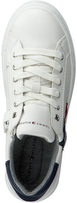 Witte TOMMY HILFIGER Lage sneakers 30615  - large