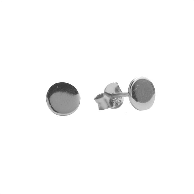 Zilveren ATLITW STUDIO Oorbellen PARADE EARRINGS CIRCLE - large