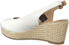 Witte TOMMY HILFIGER Espadrilles ICONIC ELBA BASIC SLING BACK  - small