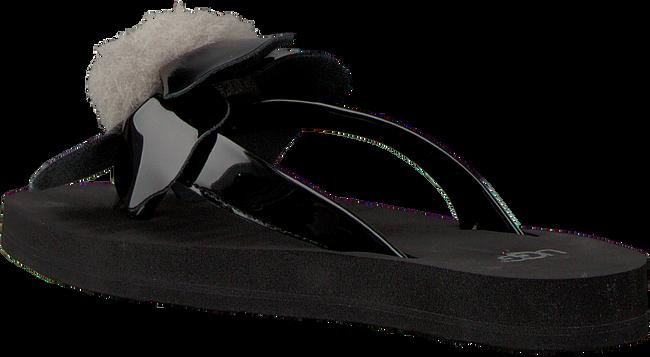 Zwarte UGG Slippers POPPY  - large