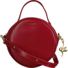 Rode FABIENNE CHAPOT Handtas ROUNDY BAG - small