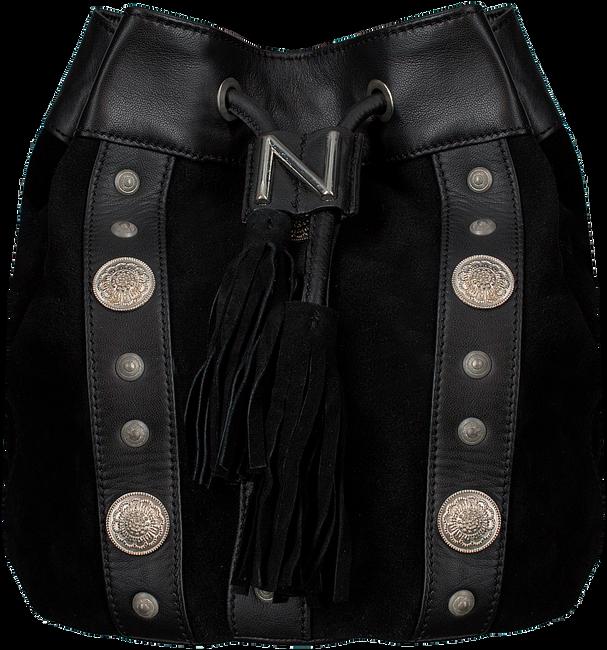 Zwarte NIKKIE Schoudertas MADGE BAG - large