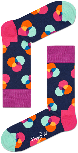 Multi HAPPY SOCKS Sokken SPECTRUM - large