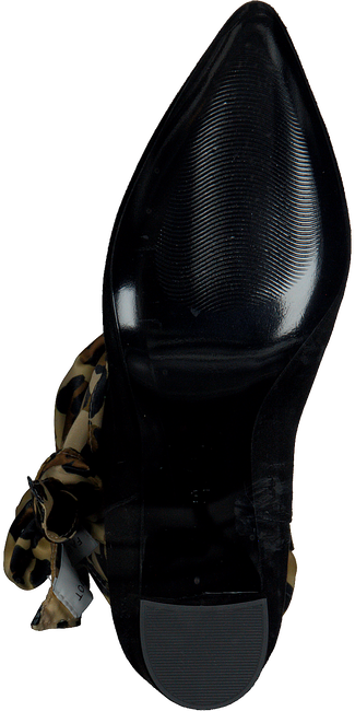 Zwarte FABIENNE CHAPOT Enkellaarsjes HUGO BOOT/SCARF - large