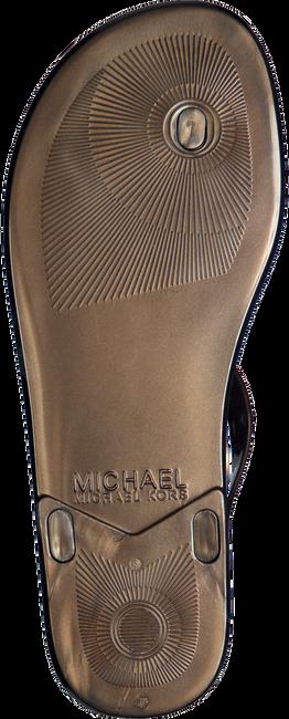 Bruine MICHAEL KORS Sandalen MK PLATE JELLY  - large