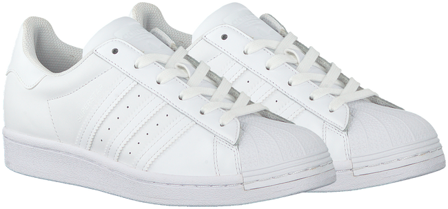 Witte ADIDAS Lage sneakers SUPERSTAR DAMES  - large