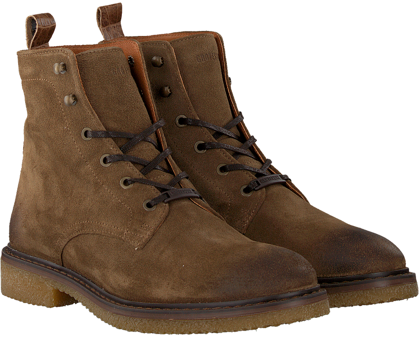 Taupe GROTESQUE Veterboots BUCKO 2  - larger
